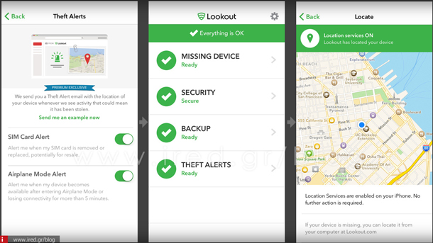 1 Look Mobile Security