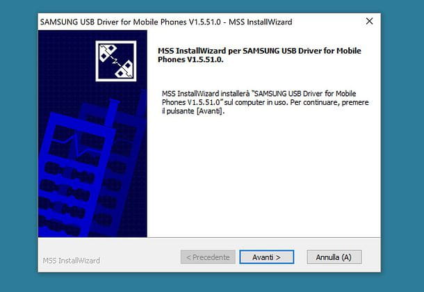 USB-драйвер Samsung (Windows)